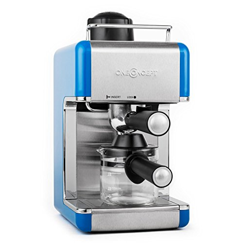 oneconcept sagrada azzuro espressomaschine im test. Black Bedroom Furniture Sets. Home Design Ideas