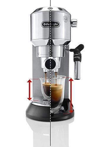 delonghi dedica ec  espresso siebtraegermaschine