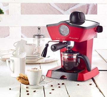 Rosenstein & Söhne Espressomaschine Retro in der Küche